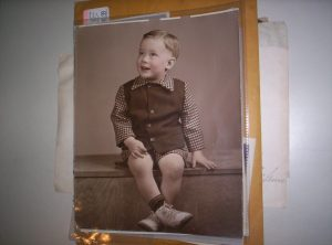 Dave Shields, Age 2 (or so)