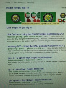 Search results for 'gcc flag -m'.